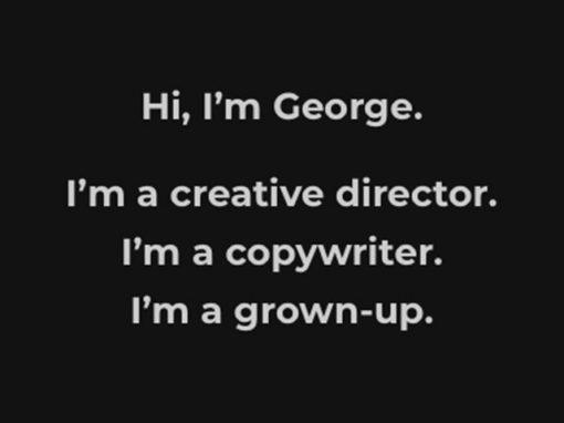 Hi, I'm George…
